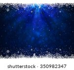 abstract blue background with... | Shutterstock .eps vector #350982347