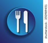 fork and knife sign. symbol...   Shutterstock .eps vector #350989451