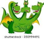 Three Headed Green Dragon...
