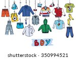 Boy Fashion Costumes Hanging O...