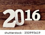 three dimensional white numbers ... | Shutterstock . vector #350995619