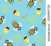vector illustration. seamless... | Shutterstock .eps vector #350999729