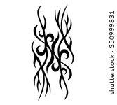 tattoo tribal vector design.... | Shutterstock .eps vector #350999831