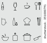 vector illustration.icons... | Shutterstock .eps vector #351000791