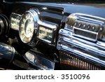 Close Up Of Vintage Car...