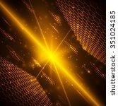futuristic digital background... | Shutterstock .eps vector #351024185
