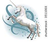 unicorn.  a vector illustration ... | Shutterstock .eps vector #3511003