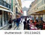lisbon  portugal   dec 24  2014 ... | Shutterstock . vector #351116621