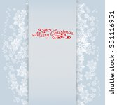 christmas background | Shutterstock . vector #351116951