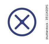 remove   icon. vector design