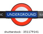 london   august 6  2015  famous ... | Shutterstock . vector #351179141