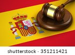 law  legal system and justice... | Shutterstock . vector #351211421