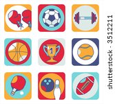 sports icons   others of same... | Shutterstock .eps vector #3512211
