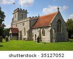 traditional english village... | Shutterstock . vector #35127052