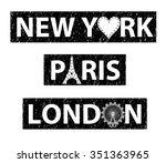 City Slogan Graphic For T Shirt