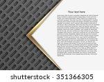 abstract vector background.  | Shutterstock .eps vector #351366305