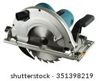 Circular Saw Isolated On A...
