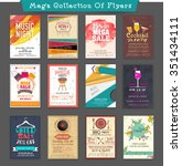 mega collections of creative... | Shutterstock .eps vector #351434111