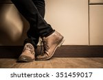 Young Fashion Man's Legs In...
