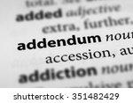 Small photo of Addendum