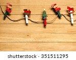 christmas decoration  christmas ... | Shutterstock . vector #351511295