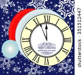 new year midnight background...   Shutterstock .eps vector #351512447