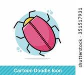 website bug doodle | Shutterstock .eps vector #351517931
