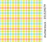 seamless pattern with colorful... | Shutterstock .eps vector #351529079