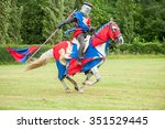 Medieval Knight Costume On A...