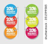 new year tag | Shutterstock .eps vector #351599585