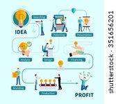 intellectual property... | Shutterstock .eps vector #351656201