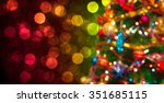 christmas and new year... | Shutterstock . vector #351685115