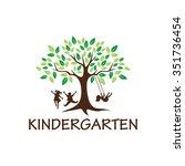 playgroup  preschool ... | Shutterstock .eps vector #351736454