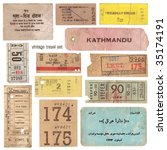 Collection Of Vintage Tickets...