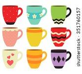 Colorful Coffee Mug Collection
