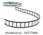 cinema film   Shutterstock .eps vector #35177869