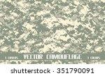 vector camouflage   Shutterstock .eps vector #351790091