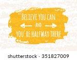 creative typographic poster...   Shutterstock .eps vector #351827009