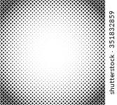 halftone illustrator. halftone... | Shutterstock .eps vector #351832859