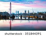 View Of London Panorama From...