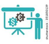 international banking project... | Shutterstock .eps vector #351850139
