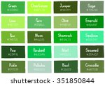 Green Tone Color Shade...