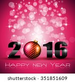 2016 happy new year and merry