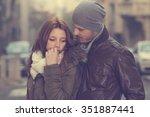 couple in love. | Shutterstock . vector #351887441