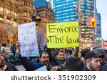 toronto canada december 9 2015  ...   Shutterstock . vector #351902309