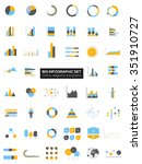 detail infographic collection... | Shutterstock .eps vector #351910727