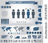 human resource management  ... | Shutterstock .eps vector #351919835