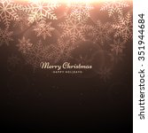 beautiful christmas background | Shutterstock .eps vector #351944684