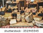 cheese shop | Shutterstock . vector #351945545