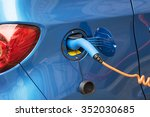 electric car charging   Shutterstock . vector #352030685